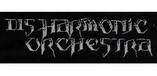 DISHARMONIC ORCHESTRA - Old Logo - Woven Patch / Aufnäher
