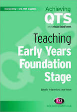 Teaching Early Years Foundation Stage by SAGE Publications Ltd (Paperback, 2008)