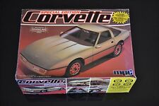 Vintage MPC 1984 84 Chevy Corvette Special Edition Gold Model Kit