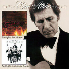 The Night Atlanta Burned/The First Nashville Guitar Quartet by Chet Atkins...