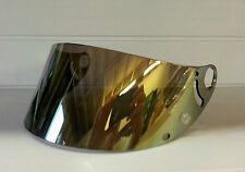 Aftermarket Gold Mirror Shark Visor Shield RSR RSR2 RSX RS2 + fixing rings