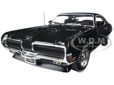 1970 MERCURY COUGAR ELIMINATOR BLACK LTD ED TO 1002PCS 1/18 BY AUTOWORLD AMM1071