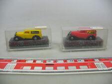 AE169-0,5# 2x Revell/Praline H0 Furgoneta Mercedes MB: Erdal+Knorr, NUEVO+OVP