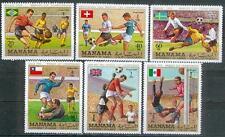 Manama 1970 ** Mi.262/67 A Fußball football Weltmeisterschaft world cup Sport