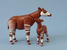 Playmobil okapi & bébé-zoo safari wildlife animals-neuf