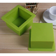 Large Silicone Cuboid Bar Soap Molds Cake Candle Molds - Square Cube 500ml