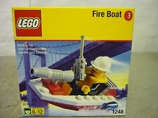 LEGO 1248 FIRE BOAT MINI FIRE FIGHTER PATROLBOAT CITY TOWN - BRAND NEW!!