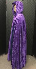 Purple velvet ROBE/PAGAN WIZARD LARP HALLOWEEN/fancy dress/Gandalf