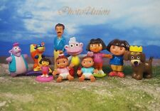 DORA THE EXPLORER Friends Set 10 Figure Model Cake Topper Decoration K364_Set10