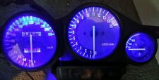 BLUE Yzf1000 thunderace led dash clock conversion kit lightenUPgrade