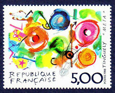 TIMBRE FRANCE 1988 TINGUELY NEUF