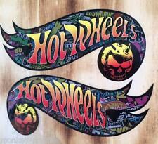 2x Comic Hotwheels Cráneo Oldschool Pegatina Stickerbomb Tuning pegatina JDM OEM