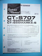 Service Manual für Pioneer  CT-S707/656 MarkII,ORIGINAL