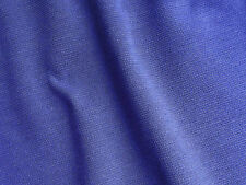 Vintage fabric remnant small PURPLE dress material Tubular knit wool blend 21""