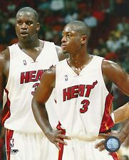 Shaquille Shaq O'Neal - Dwyane Wade - Miami Heat picture 8x10 photo #3