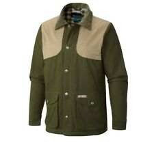 NWT Columbia PHG Sharptail Field Jacket Water STAIN RESIST AUTHENTIC Green Sz S