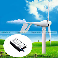 400W Hybrid Wind Turbine Generator DC 12V 24V Hybrid Controller for Home Power