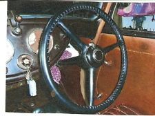 LEATHER STEERING WHEEL COVER / GLOVE for  MORRIS 8 Series 1 Series 2 & 8E,