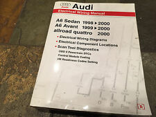 1998 1999 2000 Audi A6 Allroad Electrical Wiring Diagrams Service Manual