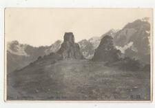 Argentina Cordillera de los Andres La Cumbre Vintage RPPC Postcard US023