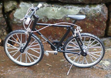 Miniature Black Mt Bicycle 1/10 scale