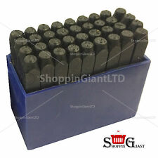 36Pc 4mm Stamp-Punch Set Letter A-Z & Number 0-9 Steel Quality Tool Kit CT0486