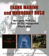 Frank Marino and Mahogany Rush-Live/Tales of the Unexpected/What's Next  CD NEW