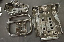 1995 KAWASAKI BAYOU 300 4X4 ENGINE GUARD, DIFFERENTIAL GUARDS SKID PLATE