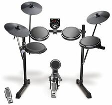 "Alesis DM6 USB Kit | Eight-Piece Compact Beginner Electronic Drum Set with 8""..."