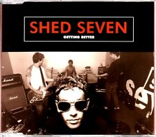 SHED SEVEN - GETTING BETTER - 3 TRACK 1996 CD SINGLE