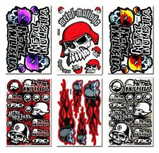 Metal Mulisha Stickers Motocross Moto-GP Motorcycle Race Bike Helmet Decals #4