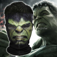 The Avengers Hulk face mask Outdoor Sports Cycling Bicycle Half Face Mask