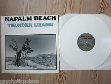 NAPALM BEACH - Thunder Lizard  LP   WHITE WAX  WEISSES VINYL  Satyricon