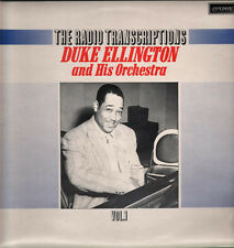 "Duke Ellington his orchestra The Radio Transcriptions 1978 vol 1-5 LP 12""33 (nm)"