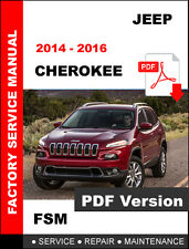 2014 2015 2016 JEEP CHEROKEE DIESEL SERVICE REPAIR WORKSHOP MANUAL MANUAL