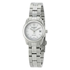 Tissot PR100 White Dial Stainless Steel Ladies Watch T0492101101700
