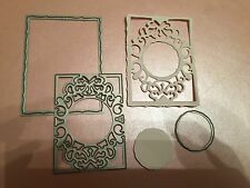 TONIC STUDIOS CHRISTMAS INSERT CUTTING AND EMBOSSING DIE LOT 6