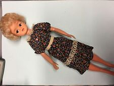 Vintage Pretty Blond Curl Hair Sindy Doll from 70s 033055X