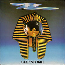 """ZZ Top Sleeping Bag UK 45 7"""" single +Picture Sleeve +Party On The Patio"""