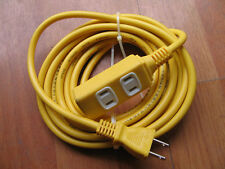 power supply extension cable outlet 110-220V 15A 1 to 3 US plug 5M