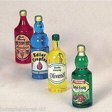 Bodo Hennig 27314 Miniatur 4 Historische Flaschen 1:12 für Puppenhaus NEU!   #