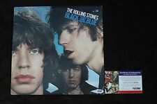 ROLLING STONES CHARLIE WATTS autographed signed LP RECORD PSA/DNA Certified