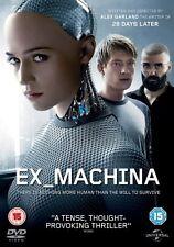 EX MACHINA   ( EX_MACHINA )            BRAND NEW SEALED GENUINE UK DVD