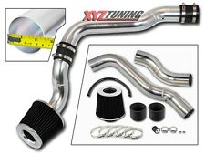 "2.5"" BLACK Cold Air Intake System + Filter For 88-91 Civic/CRX EX RT Si 1.6L L4"