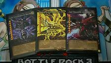 Custom Yugioh Oricas: Full Art Egyptian God Card Set (Pro Series) + Bonus