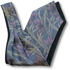 Mens Purple 'Under Shirt' Cravat Tie Royal Ascot Derby Lilac Flower