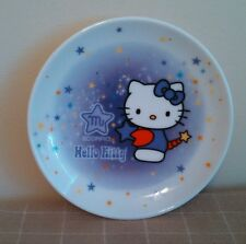 Hello Kitty Scorpio Mini Collector Plate Stars Purple Cat