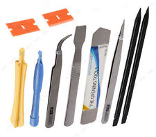 10 in 1 Cell Phone Repair Opening Pry Disassemble Tools Set Spudger Tweezer Kit