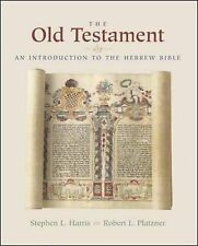The Old Testament: An Introduction to the Hebrew Bible,GOOD Book