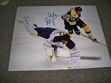 Boston Bruins Milan Lucic Autographed 8x10 Photo